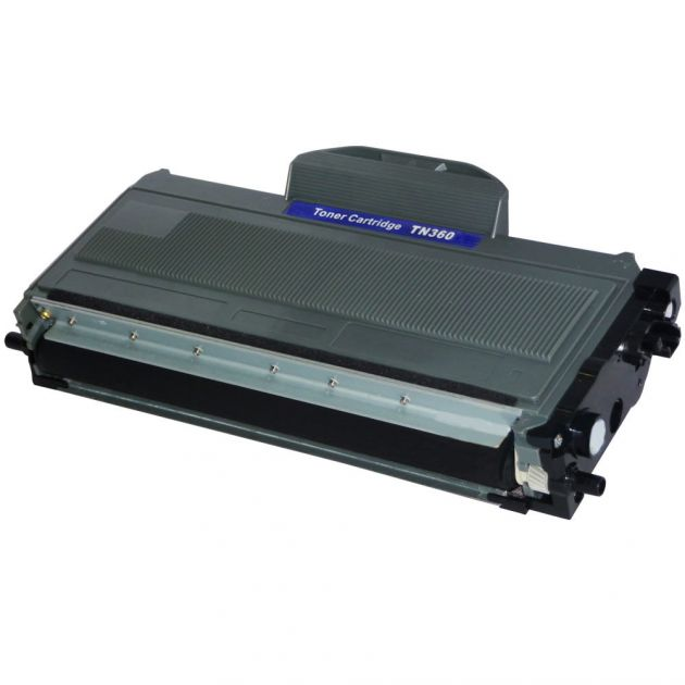 Cartucho Toner Brother TN360 - Compatível c/ Diversas Impressoras Brother Laser