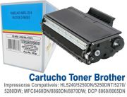 Cartucho Toner Brother TN580/3170/3175 - Compatível c/ Diversas Impressoras Brother Laser